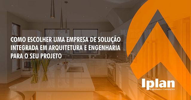Empresa de solução integrada engenharia e arquitetura