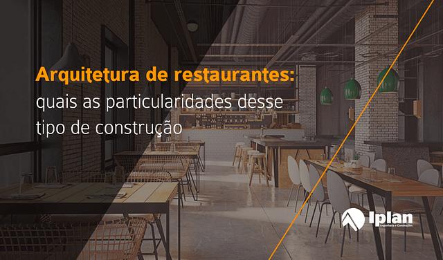 Arquitetura de restaurantes